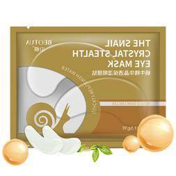 10 pcs Gold Masks Crystal Collagen <font><b>Eye</b></font> M