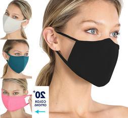 Soft Cotton Face Mask Double Layer Breathable Reusable Cloth