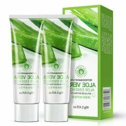 100% Pure Natural Aloe Vera Gel Heals Skin Moisture Cream So