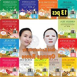13 pcs Ultra Hydraiting Essence Mask  13 pcs Total , Korean