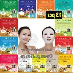 13 pcs Ultra Hydraiting Essence Mask , Korean Facial M