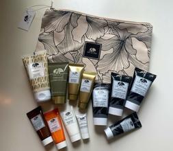ORIGINS 13pc Lot Skincare Plantscriptions Makeup Bag Travel