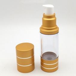 15ml Mini Portable Airless Bottle Cosmetic Treatment Pump <f