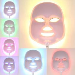 2017 New Therapy Photon LED Facial Mask 7 Color Light Skin C
