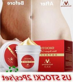 2PCS US Women Scar Removal Maternity Skin Repair Stretch Mar
