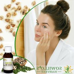 Virgin Moringa Oil, 100% Natural Cold Pressed Moringa Seed