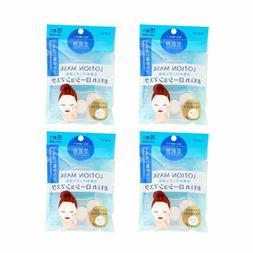 4X KOSE Bihadagoyomi Lotion Mask 15pcs Skincare