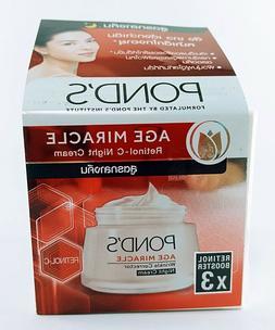 50g POND'S Age Miracle Retinol-C Night Cream Booster x 3 Wri