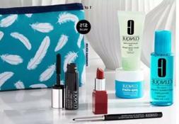 Clinique 6 PC Skincare Gift Set, all obout eyes rich, moistu