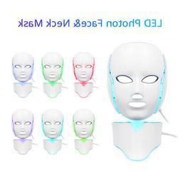 7 Colors LED Photon Light Facial Body Skin Rejuvenation PDT