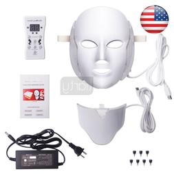 7 LED PHOTON THERAPY RED BLUE GREEN LIGHT TREATMENT FACIAL B