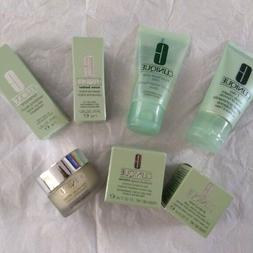 7 pc Clinique Beauty Makeup Skin Care Lot Set New