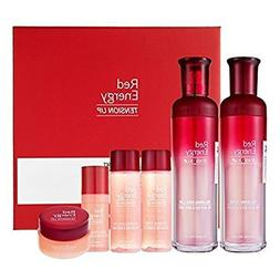 Red Energy TENSION UP Voluming Toner & Emulsion SET