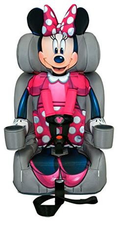 KidsEmbrace 2-in-1 Harness Booster Car Seat, Disney Minnie M