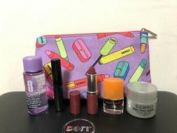 Macys Bonus Clinique 6 PCS Travel Size Makeup Skincare Sampl