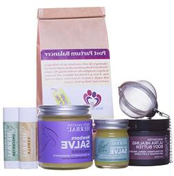 New Mama Natural Gift Box For A New Mother With Organic Post