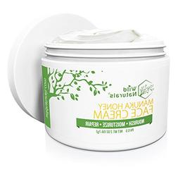 Wild Naturals Face Cream Moisturizer : 86% Organic - for Dai