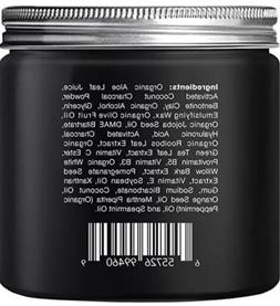 Majestic Pure Activated Charcoal Mud Mask Clear Complexion F