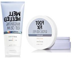Bath and Body Works Active / Skin Care Foot Care Set Include
