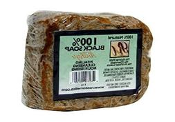 RA Cosmetics 100% Natural African Black Soap, Mango Scent, 5