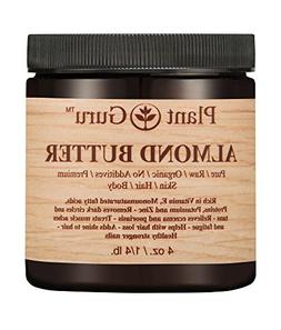 Almond Body Butter 4 oz. 100% Pure Raw Fresh Natural Cold Pr