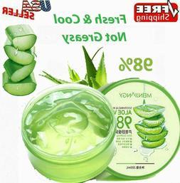 Aloe Vera 98% Moisturizing Gel True Natural Extract Soothing