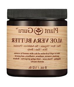 Aloe Vera Body Butter 8 oz.100% Pure Raw Fresh Natural Cold