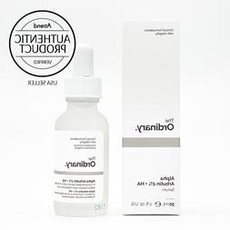 THE ORDINARY Alpha Arbutin 2% + HA - Size 30ml/1oz NEW & Fre