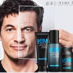 Anti Aging Daily <font><b>Skincare</b></font> Set For Men 3p