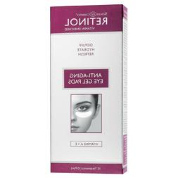 Skincare Cosmetics Retinol Anti-aging Eye Gel Pads 9 Pairs H