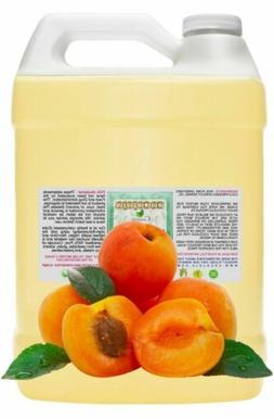 Apricot oil cold pressed unrefined apricot kernel oil 100% p