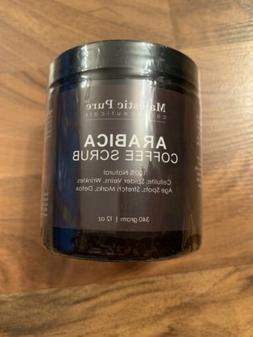 Majestic Pure Arabica Coffee Scrub, Natural Body Scrub for S