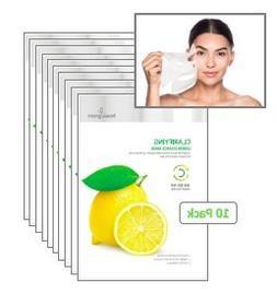 BeauuGreenPremium Beauty SheetEssenceMask Clarifying Lemon P