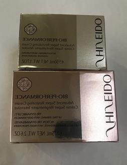 Shiseido Bio-performance skincare products - moisturizer