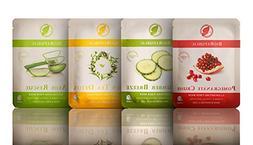 BioRepublic Skincare 8 Biodegradable Sheet Mask Skin Kit  Al