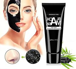 Black Mask, Blackhead Remover Mask Charcoal peel off mask fo