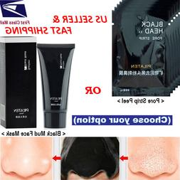 Blackhead Remover-Deep Cleansing Black Mud Mask-Acne Pore S