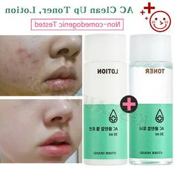 Blemish Acne Skin Care, Clean Up Basic Set 30ml Toner+30ml L