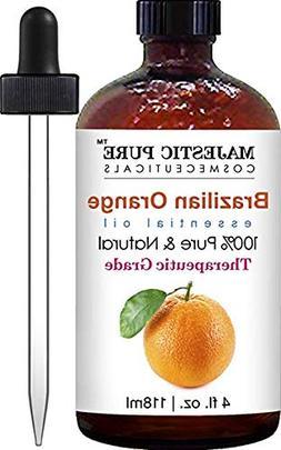 Brazilian Orange Essential Oil from Majestic Pure, Premium Q