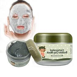 INST Carbonated Bubble Clay Mask Bubbles Origin Beauty Black