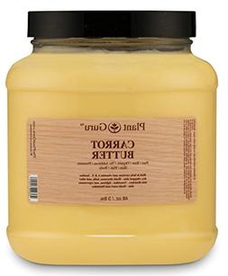Carrot Butter 3 lb. 100% Pure Raw Fresh Natural Cold Pressed