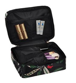 Travel Makeup Cosmetic Case,Portable Brushes Case Toiletry B