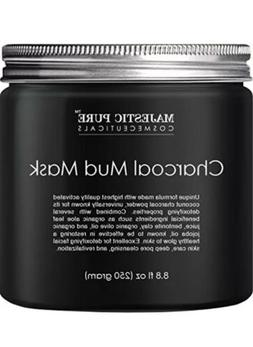 Majestic Pure Charcoal Mud Mask Coconut Face Mask