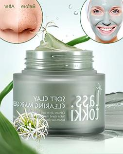 Clay Mask, Lasstokki Green Clearing Clay Mask, Blackhead Rem