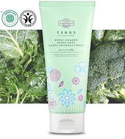 FARMGRAIN CONEY Organic Super Food Green Foam Cleansing Crea
