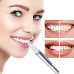 Plovex Dental Teeth Whitening Pen Gel Strips Bleach Stain Re