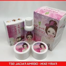 FAIRY SKIN Derma Facial Set Korean Skin Glow Effect 💯Auth