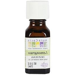 Aura Cacia Essential Oil, Inspiring Lemongrass, 0.5 fluid ou