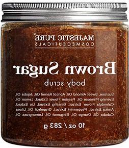 Brown Sugar Body Scrub for Cellulite and Exfoliation - Natur