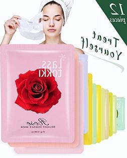 Face Mask Lasstokki Korean Delight Crinum Lily Essence Facia